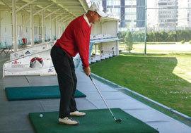 高尔夫站姿练习
