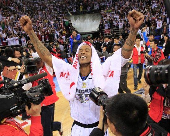 北京首钢赢得CBA联赛冠军