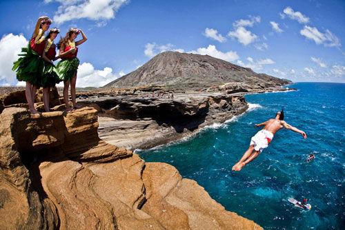 跳水成缓解生活压力好方式