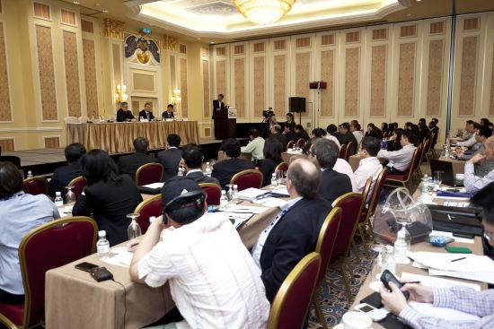 第七届亚洲国际博彩博览会(G2E Asia)在澳门威尼斯人酒店举行