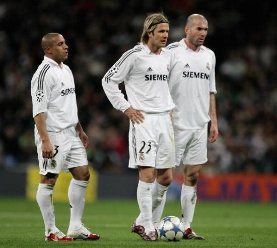 2006年皇马欧冠对阿森纳,齐达内欧冠最后一轮