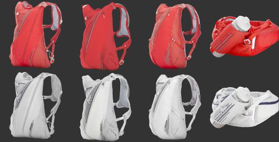 gregory越野跑系列背包:材质防水防汗