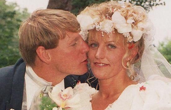 皮尔斯与妻子