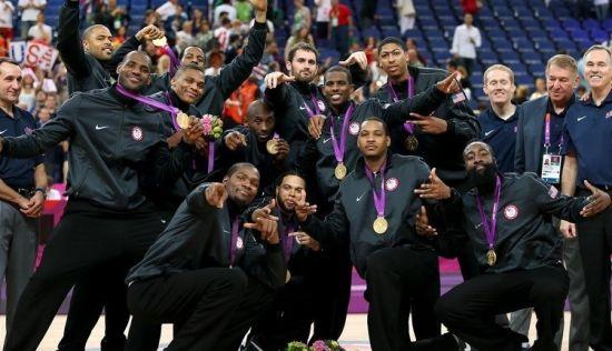 美国梦十队加盟奥运冠军