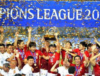 中国男子足球第6次亚洲称王!
