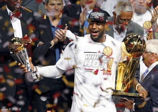 热火卫冕NBA总冠军