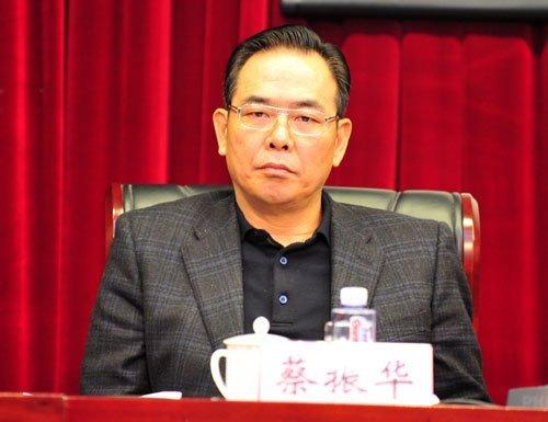 蔡振华出任足协主席王健林顾问 张剑领衔七副主席