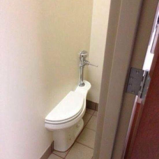 这马桶确定能坐上去?