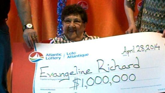 加拿大100万美元大奖得主――86岁的理查德