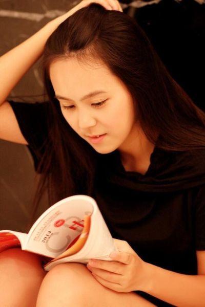 十七岁的小女孩—马景婷