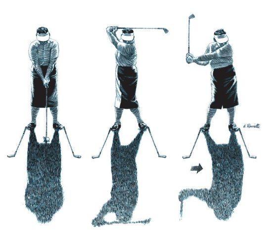 杰克・蓬的影子画
