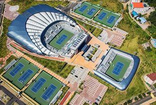 仁川亚运会场馆-十井网球竞技场(网球、软式网球)