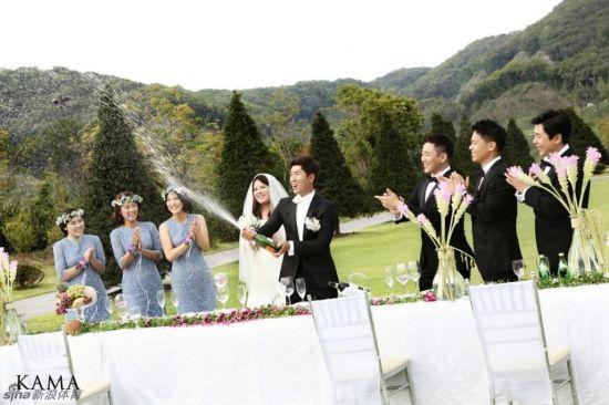 唯美婚礼照