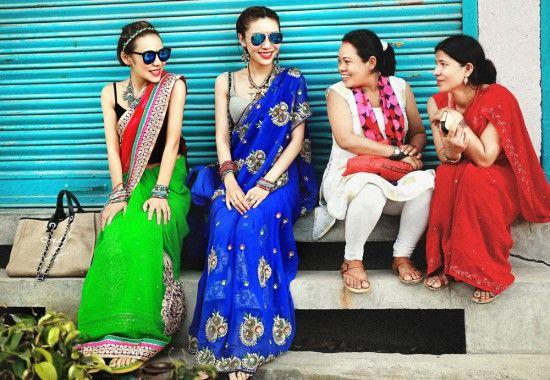 成都美女摄影师尼泊尔采风