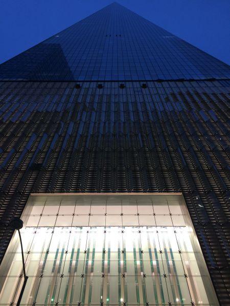 新世贸大楼。