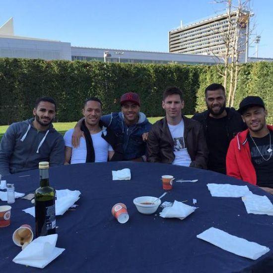 梅西以及他的队友