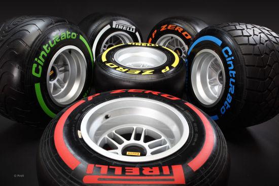 倍耐力的2015款F1轮胎阵容