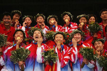 2004年雅典奥运会夺冠(2)