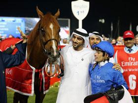 视频-迪拜赛马世界杯 世界最帅王子致开幕词