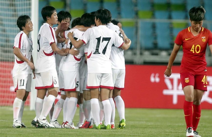 热身赛-中国女足0-1负朝鲜