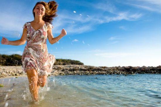 跑步快走会让人变美。
