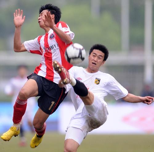 前绿城后卫变身湘涛9号刘博:每场比赛目标零失球
