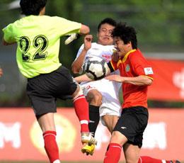 贝阿塔头槌建功锁定胜局湖南1-0小胜延边继续领跑