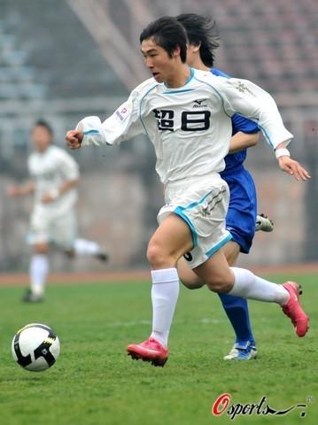图文-[中甲]南京有有1-0上海东亚速度大比拼