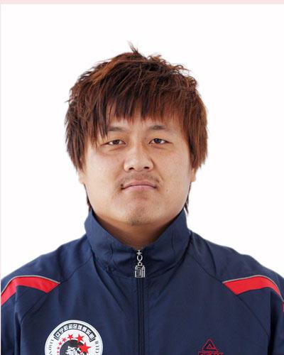 图文-2009赛季中甲联赛辽宁队27号守门员崔凯
