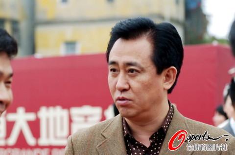 图文-[中甲]广州恒大3-1北理工许家印现场观战