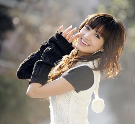 图文-2010赛季上海中邦女郎评选活动展现青春活力
