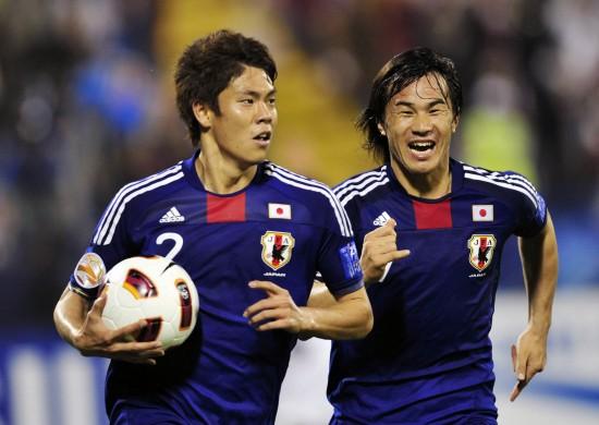 [亚洲杯]1\/4决赛日本3-2卡塔尔 伊野波雅彦打进