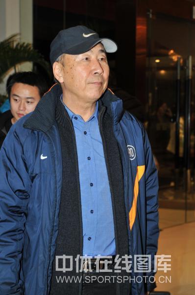 图文-玫瑰碗之战十周年纪念活动原女足主帅马元安