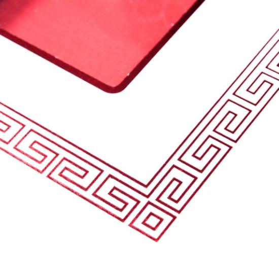 中式角落回纹矢量图