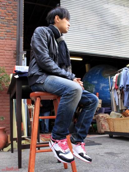 低调鞋型高调材质