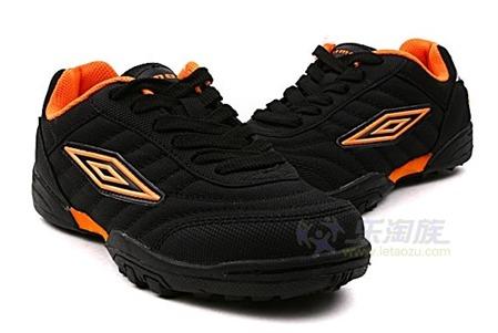 橙色女子复古休闲鞋
