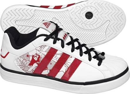 阿迪达斯 男子 篮球鞋 G22083洛杉矶湖人