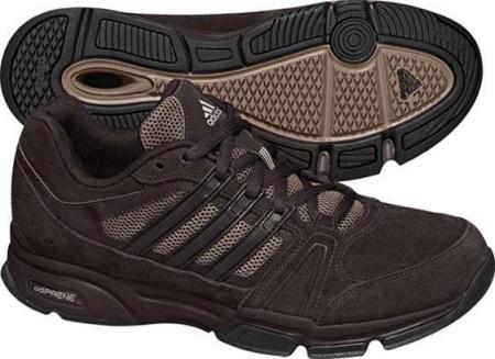 阿迪达斯 训练鞋 G19607深棕/自然沙棕