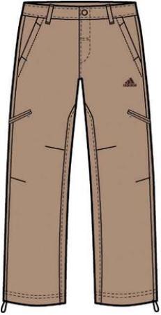 阿迪达斯 梭织长裤 P85407深沙砾棕