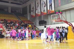 WCBA川浙爆发激烈群殴比赛被迫取消