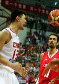 图文-[钻石杯]中国男篮VS伊朗 姚明为何怒吼?