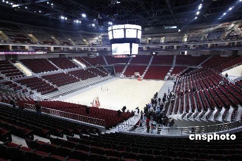 CBA全明星赛落户五棵松 五棵松篮球馆内景
