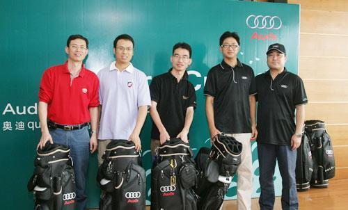2008奥迪quattro杯高尔夫锦标赛北部区太伟开杆
