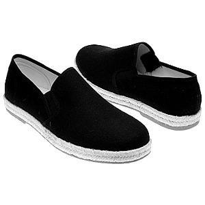 中国古董飞跃鞋归来劳保布鞋底打上CK标