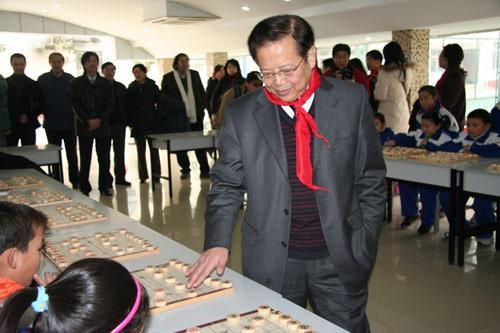 08年度象棋人物:世界象棋先生许银川 象棋小姐唐丹图片