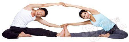 情侣瑜伽 让你和他更靠近