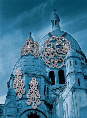 JEWELRY| 宫廷建筑感:化不掉的法式浓郁