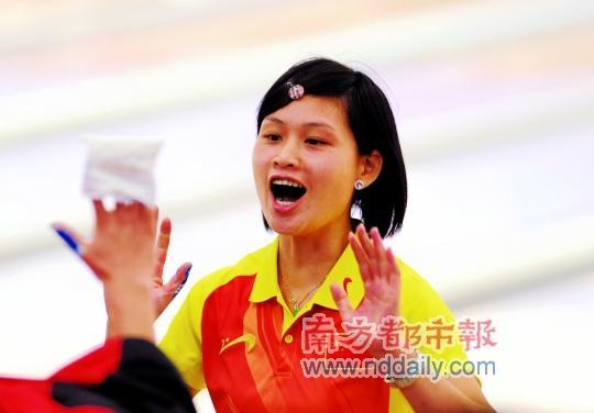 杨穗玲这个名字,在中国保龄球界相当响亮。