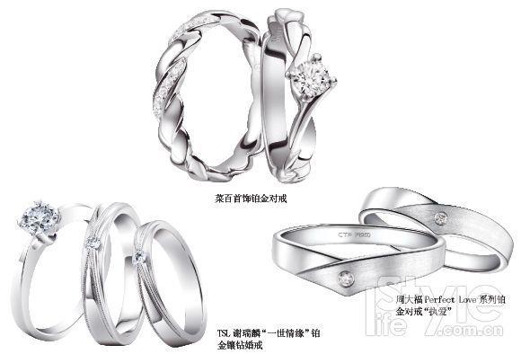 专题| 铂金戒指--见证幸福真爱的珍贵之选