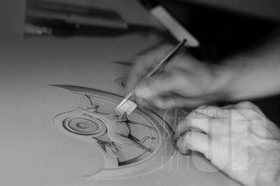 时间的线条――探秘宝珀金雕工艺